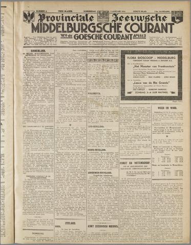 Middelburgsche Courant 1933-01-05