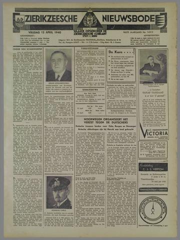 Zierikzeesche Nieuwsbode 1940-04-12