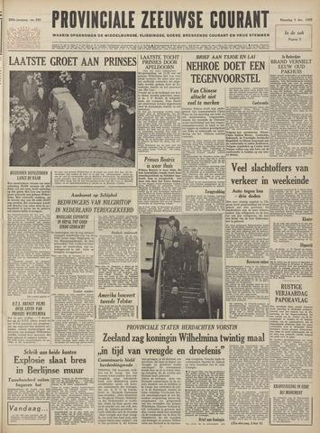 Provinciale Zeeuwse Courant 1962-12-03