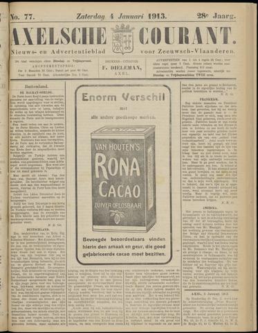 Axelsche Courant 1913-01-04