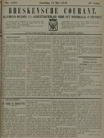 Breskensche Courant 1909-05-15