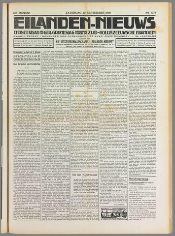 Eilanden-nieuws. Christelijk streekblad op gereformeerde grondslag 1939-09-30
