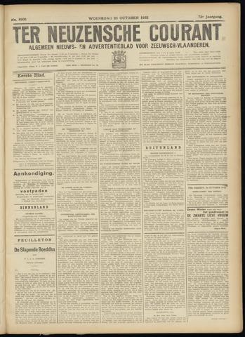 Ter Neuzensche Courant. Algemeen Nieuws- en Advertentieblad voor Zeeuwsch-Vlaanderen / Neuzensche Courant ... (idem) / (Algemeen) nieuws en advertentieblad voor Zeeuwsch-Vlaanderen 1932-10-26