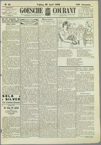 Goessche Courant 1932-04-29