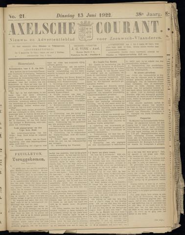 Axelsche Courant 1922-06-13