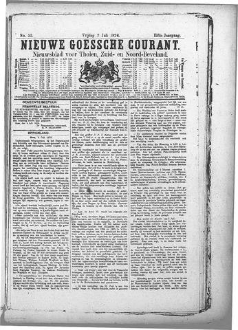 Nieuwe Goessche Courant 1876-07-07