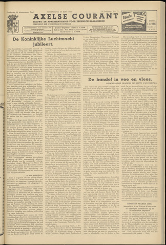Axelsche Courant 1958-06-25