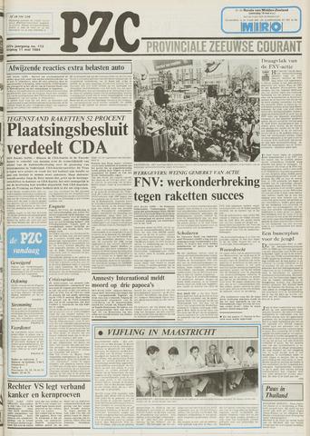 Provinciale Zeeuwse Courant 1984-05-11