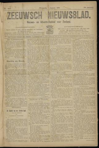 Ter Neuzensch Volksblad. Vrijzinnig nieuws- en advertentieblad voor Zeeuwsch- Vlaanderen / Zeeuwsch Nieuwsblad. Nieuws- en advertentieblad voor Zeeland 1919