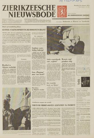 Zierikzeesche Nieuwsbode 1973-02-26