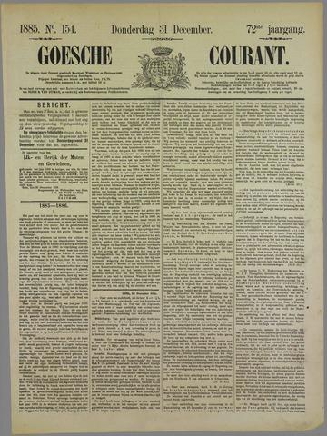 Goessche Courant 1885-12-31
