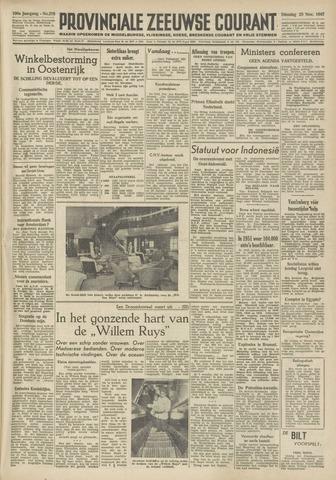 Provinciale Zeeuwse Courant 1947-11-25