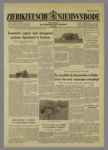 Zierikzeesche Nieuwsbode 1960-03-07