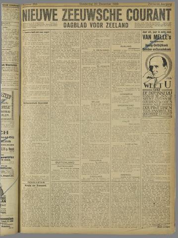 Nieuwe Zeeuwsche Courant 1920-12-30