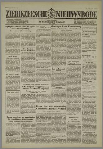 Zierikzeesche Nieuwsbode 1955-10-04