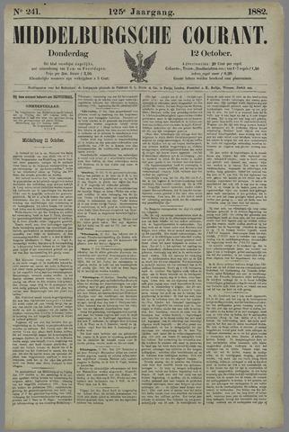 Middelburgsche Courant 1882-10-12