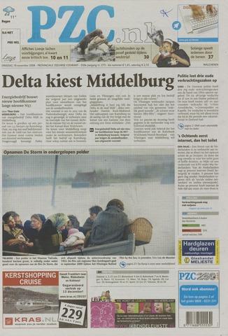 Provinciale Zeeuwse Courant 2008-11-18