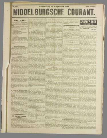 Middelburgsche Courant 1925-08-20