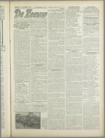 De Zeeuw. Christelijk-historisch nieuwsblad voor Zeeland 1944-01-14