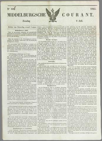 Middelburgsche Courant 1865-07-02