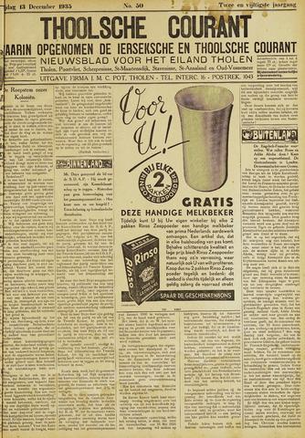 Ierseksche en Thoolsche Courant 1935-12-13