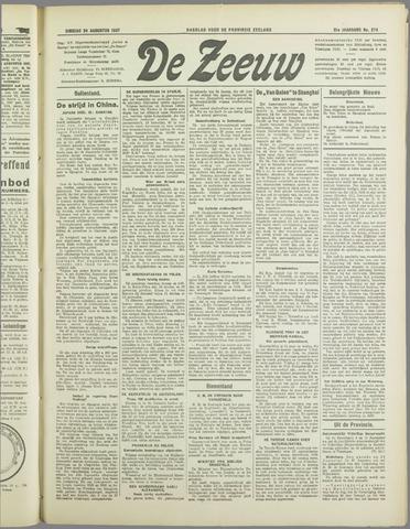 De Zeeuw. Christelijk-historisch nieuwsblad voor Zeeland 1937-08-24
