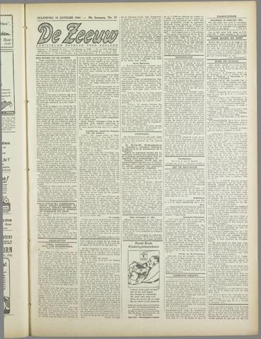 De Zeeuw. Christelijk-historisch nieuwsblad voor Zeeland 1944-01-10