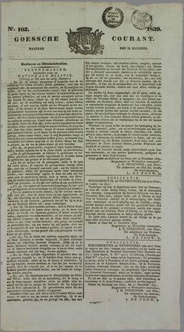 Goessche Courant 1839-12-23