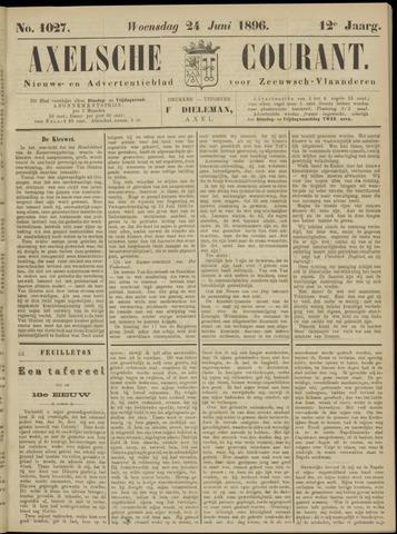 Axelsche Courant 1896-06-24