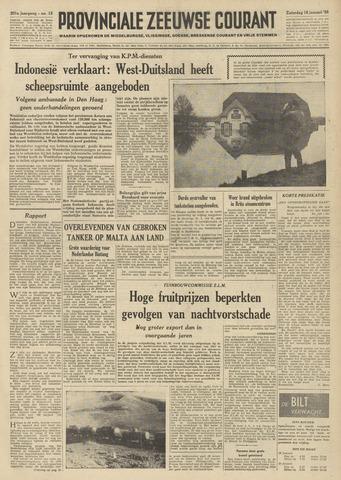 Provinciale Zeeuwse Courant 1958-01-18