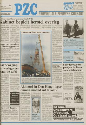 Provinciale Zeeuwse Courant 1991-10-11