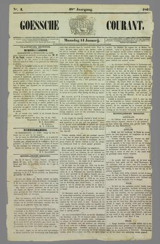 Goessche Courant 1861-01-14