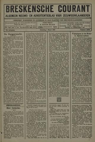 Breskensche Courant 1919-03-01