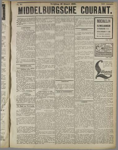 Middelburgsche Courant 1921-03-18