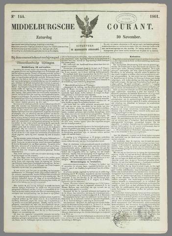 Middelburgsche Courant 1861-11-30