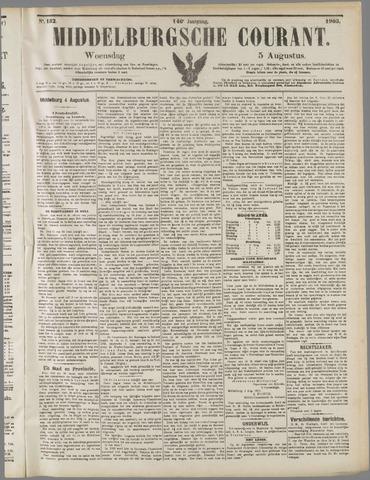 Middelburgsche Courant 1903-08-05