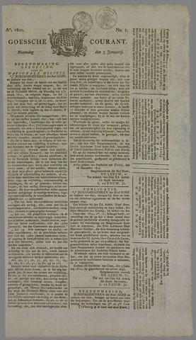 Goessche Courant 1820