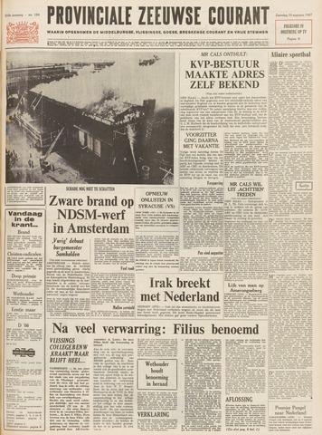 Provinciale Zeeuwse Courant 1967-08-19