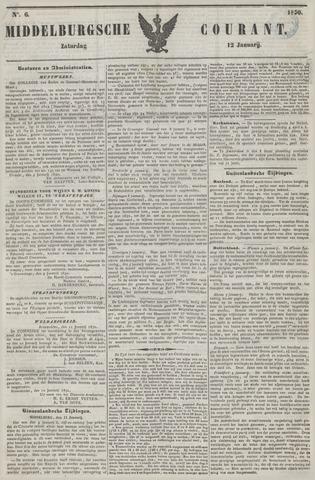 Middelburgsche Courant 1850-01-12