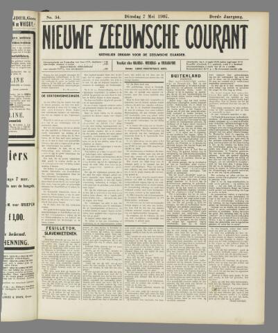 Nieuwe Zeeuwsche Courant 1907-05-07