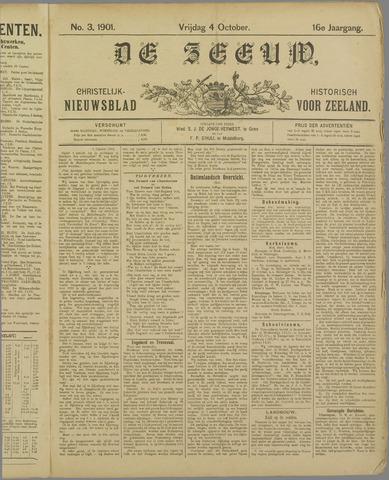 De Zeeuw. Christelijk-historisch nieuwsblad voor Zeeland 1901-10-04