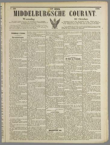 Middelburgsche Courant 1906-10-10