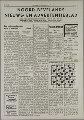 Noord-Bevelands Nieuws- en advertentieblad 1984-09-27