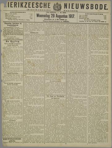 Zierikzeesche Nieuwsbode 1917-08-29