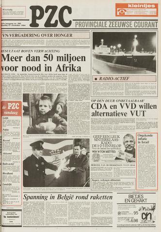 Provinciale Zeeuwse Courant 1984-11-27