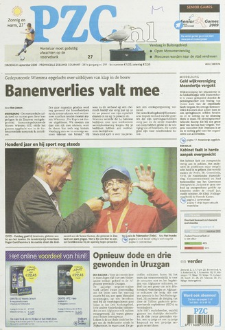 Provinciale Zeeuwse Courant 2009-09-08