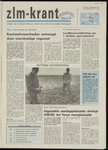 Zeeuwsch landbouwblad ... ZLM land- en tuinbouwblad 1993-10-01
