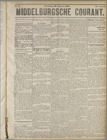 Middelburgsche Courant 1922-03-28