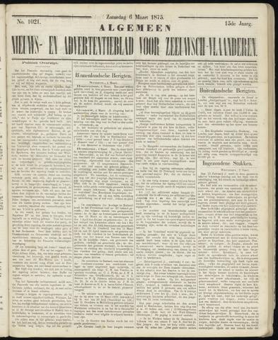 Ter Neuzensche Courant. Algemeen Nieuws- en Advertentieblad voor Zeeuwsch-Vlaanderen / Neuzensche Courant ... (idem) / (Algemeen) nieuws en advertentieblad voor Zeeuwsch-Vlaanderen 1875-03-06