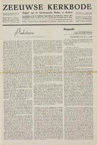 Zeeuwsche kerkbode, weekblad gewijd aan de belangen der gereformeerde kerken/ Zeeuwsch kerkblad 1949-06-03
